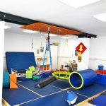 Our fun gym holds a lot of different gymnastics equipment to help your child reach new heights